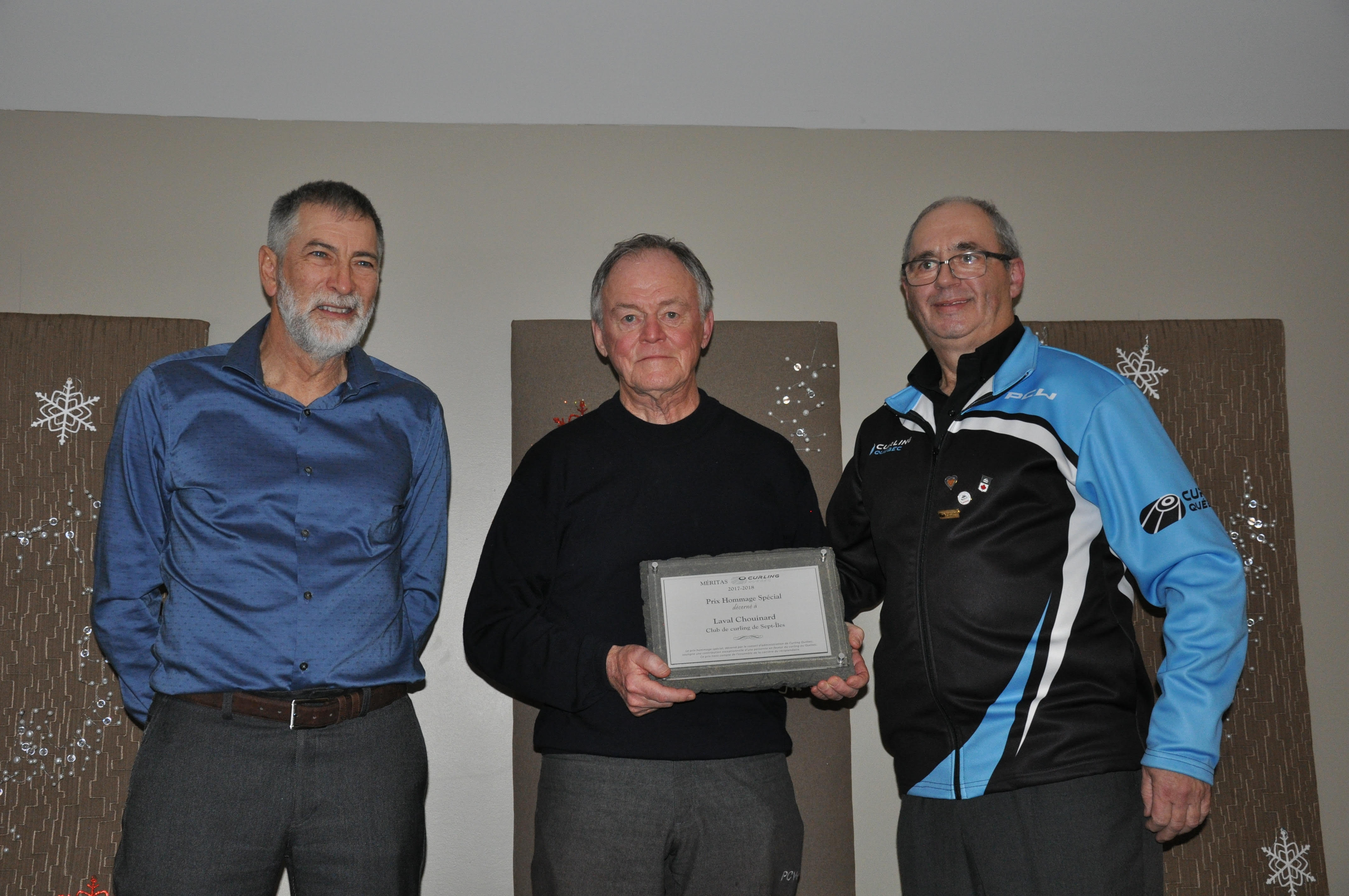 Special Tribute Meritas Award Curling Québec