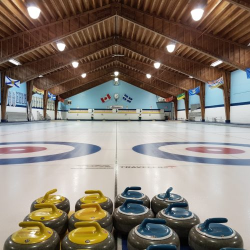 The ice sheets at Glenmore Curling Club are waiting for you!