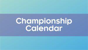 Curling Quebec Championship Calendar
